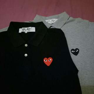 PLAY CDG polo shirt (SEPAKET) comme des garcons