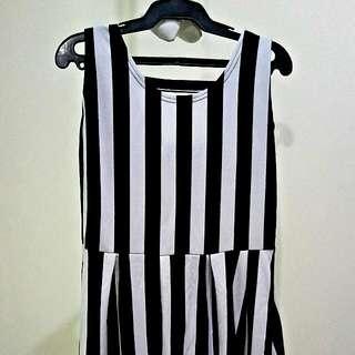 Striped Long Blouse