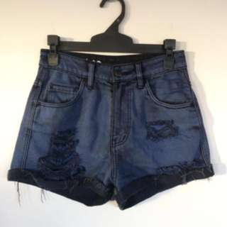 LEE Dark Blue Shorts