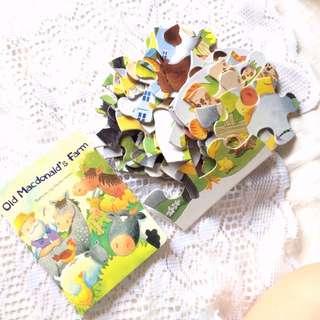 [With Jumbo Jigsaw Puzzle] Old MacDonald Board Book.