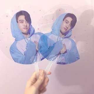 GOT7 Jinyoung Transparent Fan