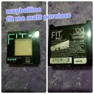 Maybelline Fit Me Shade 120