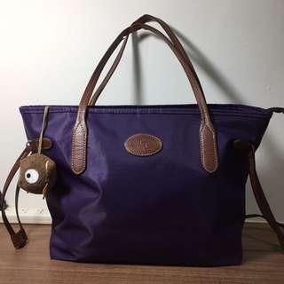 紫色手提/肩背包(可換物)