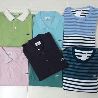 7 Lacoste Shirt (XL)