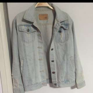 Oversized Denim Jacket *Price Drop*