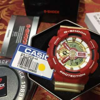 GSHOCK GA110CS 4ADR Iron Man Edition