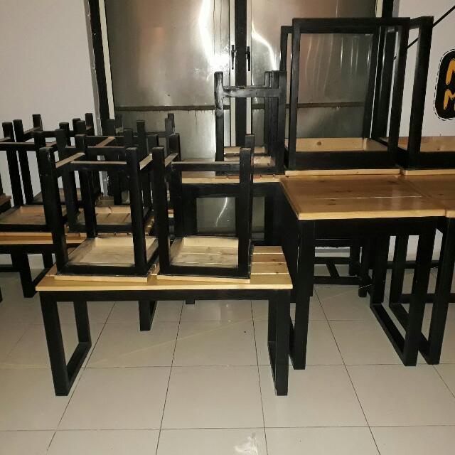 1 set furniture cafe