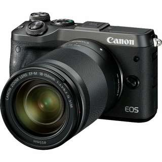 EOS M6 with EF-M 18-150 Lens (Canon)