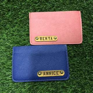 CARD HOLDER PASSPORT COVER COIN POUCH KEYCHAIN WALLET