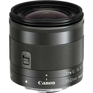 EF-M 11-22 IS STM wide Angle Lens (Canon)