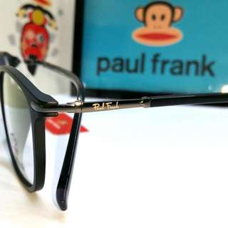cd5e9f63a64 Authentic Paul Frank Spectacle Eyewear + Original Tag Box PF3189 Black  Large Head Size