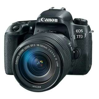 EOS 77D with 18-135 IS USM lens (Canon)