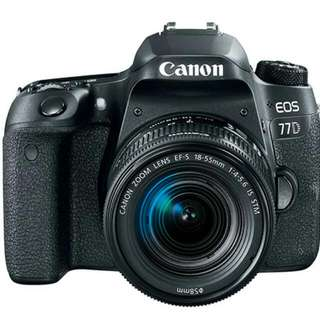 EOS 77D with 18-55 IS STM Lense (Canon)