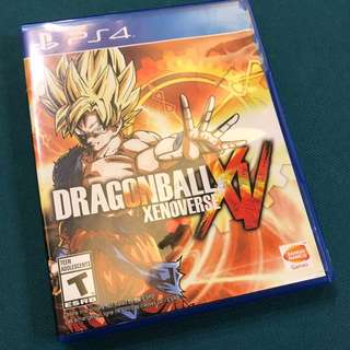 PS4- Dragonball Xenoverse (Rare Eng. Version)