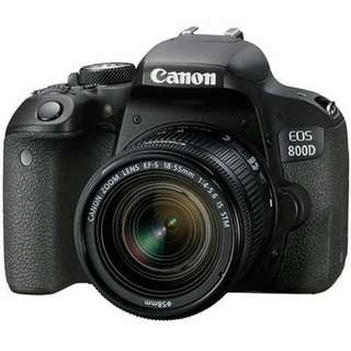 EOS 800D with IS STM lense (Canon)