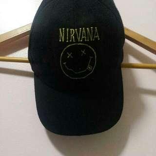 nirvana cap