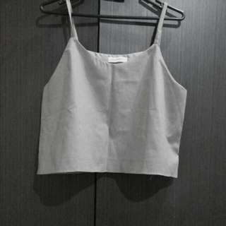 Shopatvelvet Grey Tank Top