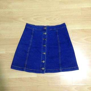 Skirt Button Down