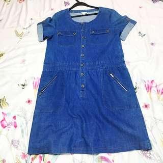 Preloved Jeans Dress