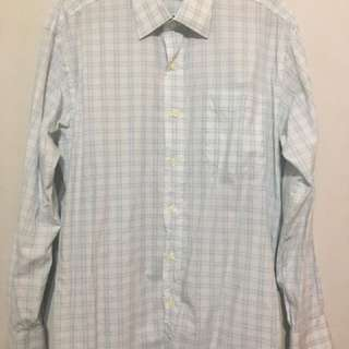 Men's Checkered Long Sleeves