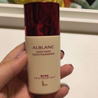 Sofina 粉底 Alblanc Moist White Liquid Foundation