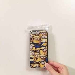 (包郵)iphone5/5s Minions硬殼