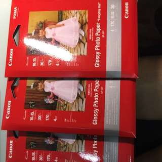 Glossy Photo papers