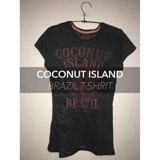 COCONUT ISLAND Brazil T-Shirt