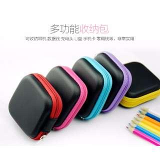 Square hard earpiece case