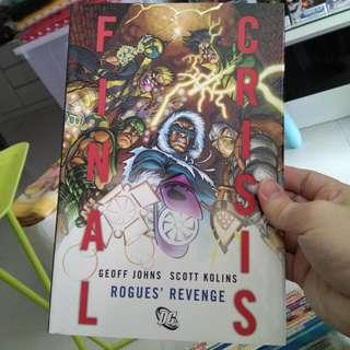Flash Trade Paperback Hardcover Comic Final Crisis Rogue Revenge