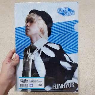 Official Super Junior Super Show 4 L Holder Eunhyuk