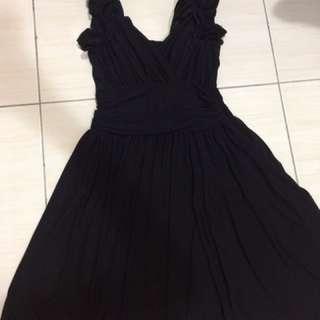 黑色基本款洋裝