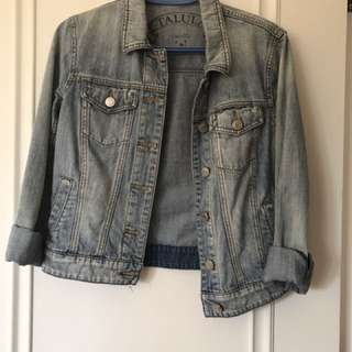 Aritzia Denim Jacket PRICE LOWERED