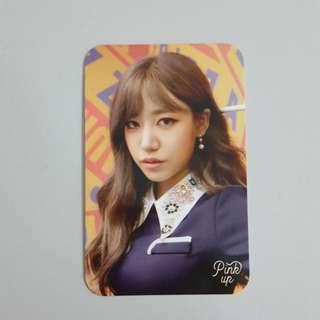 APink Namjoo Photocard (Pink Up)