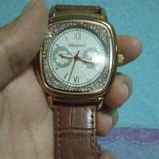 Preloved Jam tangan Elisabeth