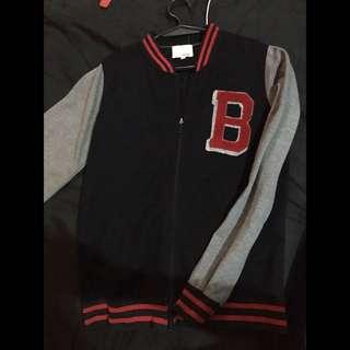 BENCH/ Varsity Jacket (black)
