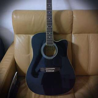 Acoustic Guitar With Electric Cord