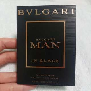 BVLGARI Man In Black (Mini - 1.5ml)