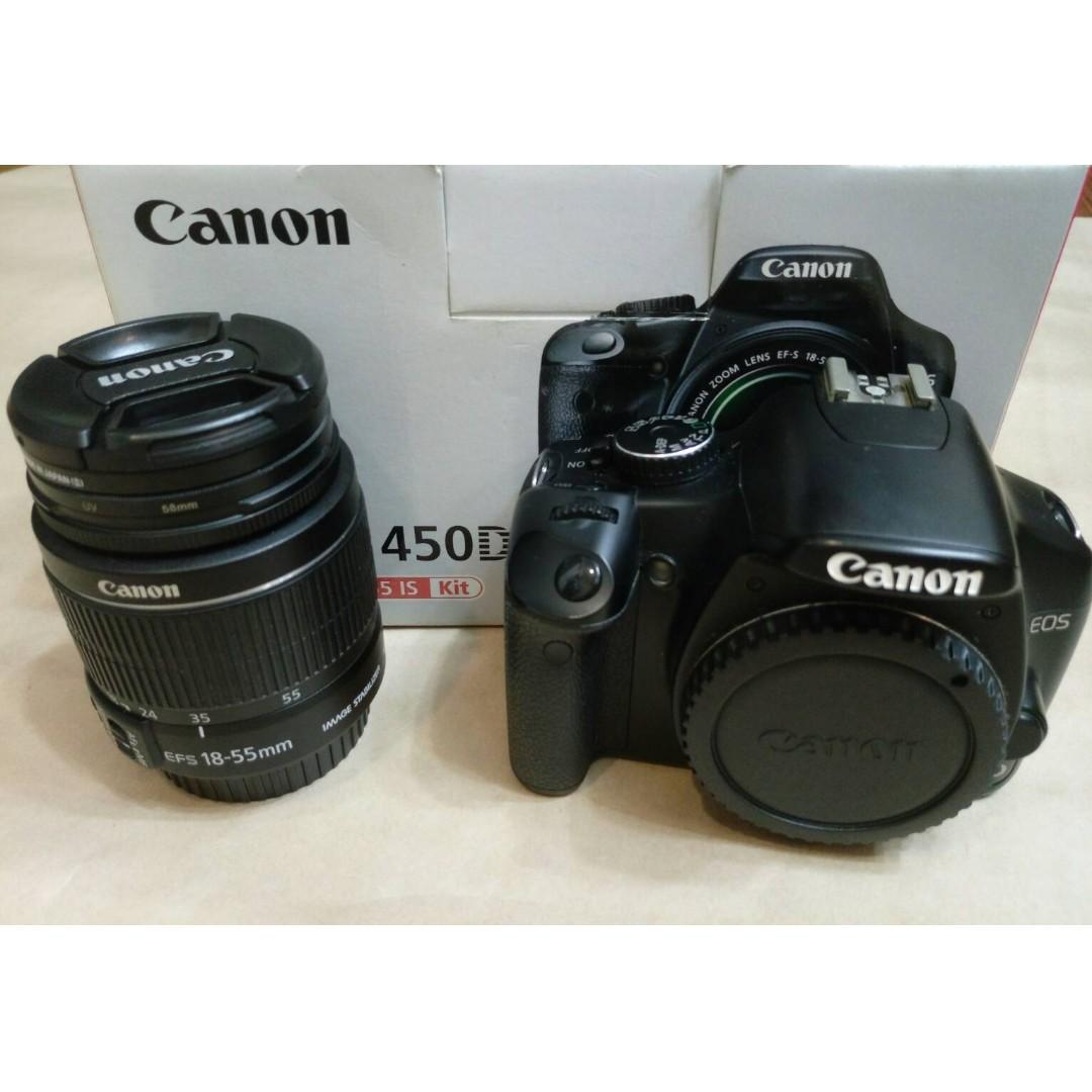*賣** #CANON 450D+18-55MM鏡頭