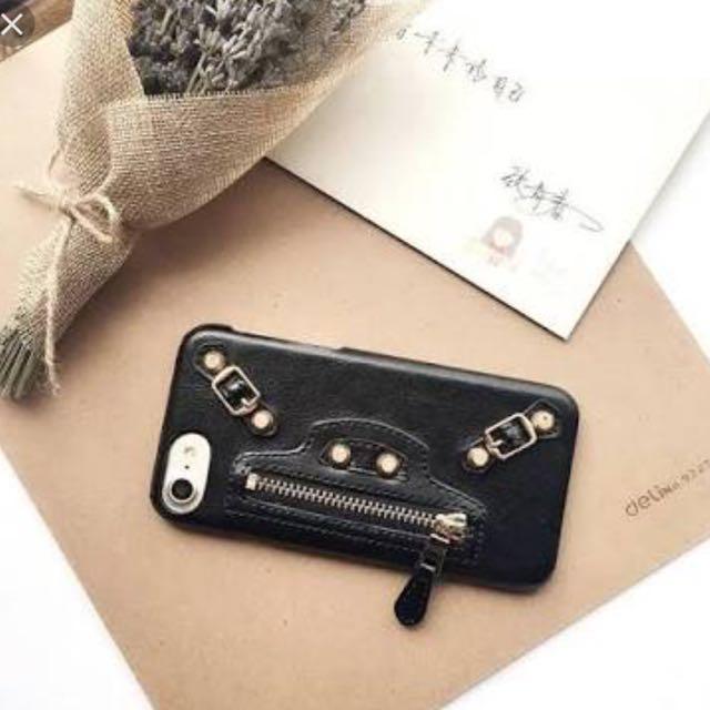 ( NEW ) Iphone 6+/6s+ Balenciaga Case Black