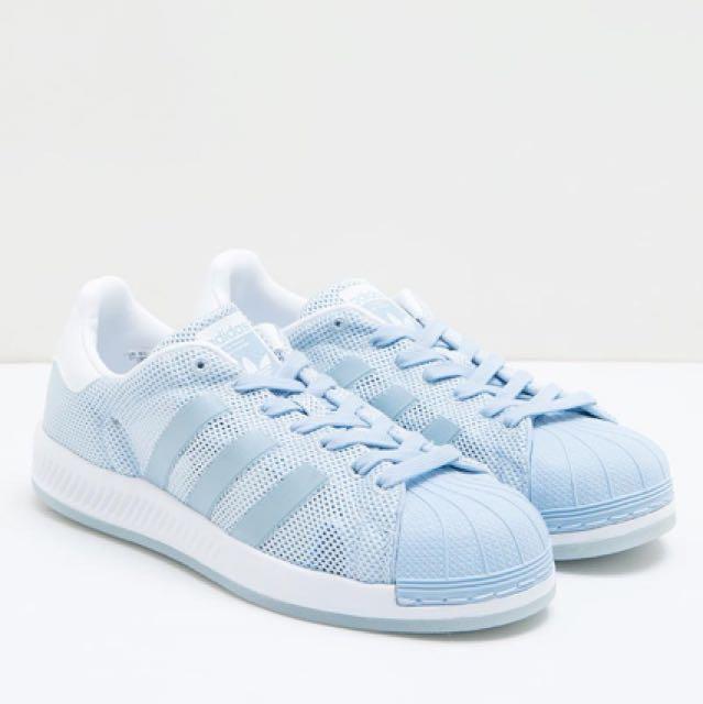 1dea4d8d28b2 Adidas Superstar Bounce - Easy Blue