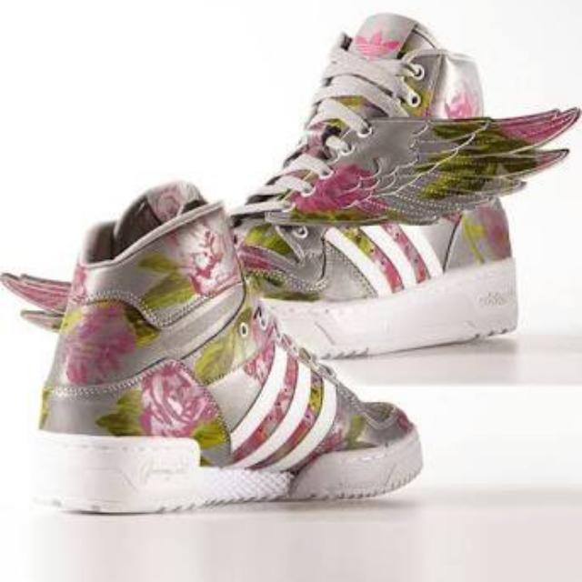 Adidas x Jeremy Scott wings floral