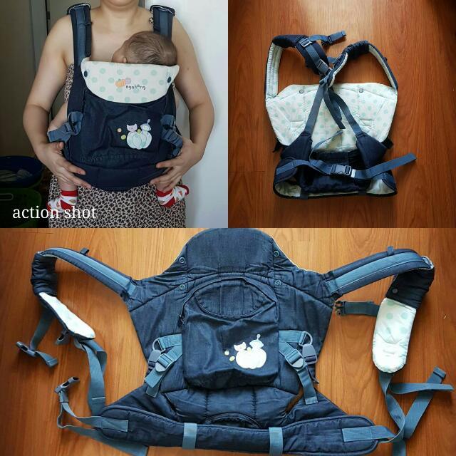 Agabang Korean Baby Carrier