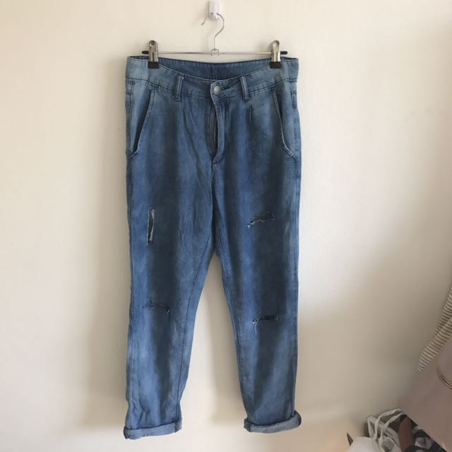 All About Eve Size 8 Ripped Jeans