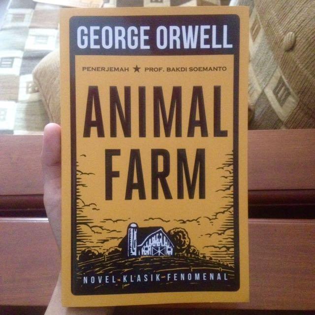 Animal Farm by George Orwell (Bahasa)