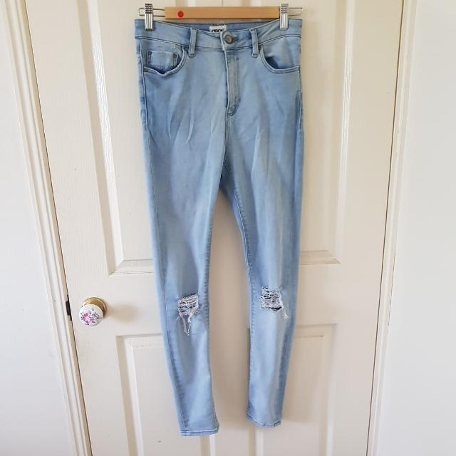 ASOS Ridley Ripped Jeans 28/32
