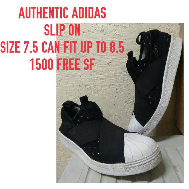 Authentic Adidas Slip On