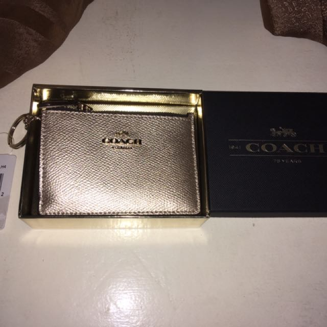 Authentic COACH skinny mini wallet