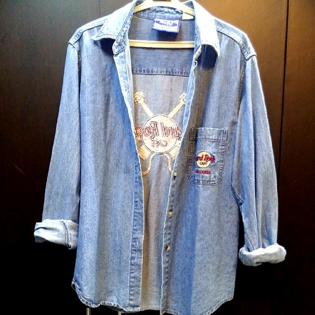 AUTHENTIC HARD ROCK DENIM JACKET