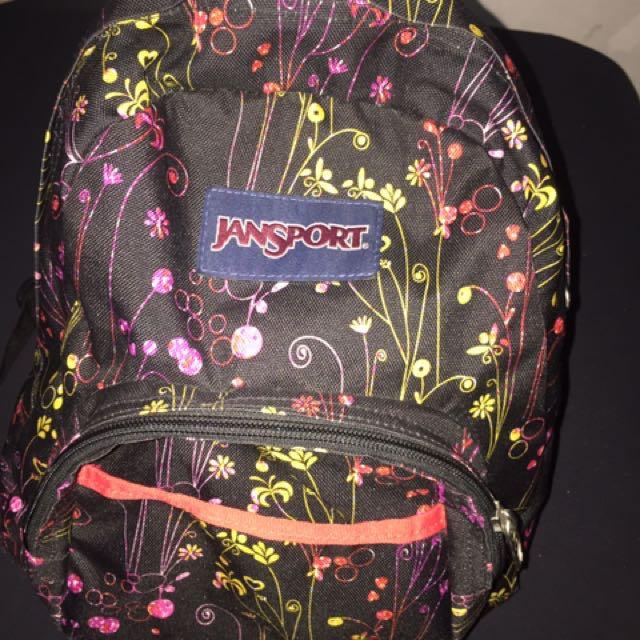 Authentic Jansport Bag For Kids